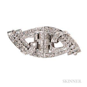 Diamond Dress Clips