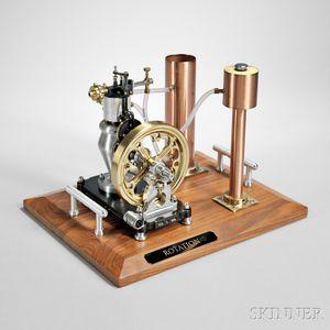 Victorian Stationary Engine