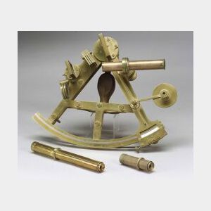 Double-Frame Brass Sextant by Troughton