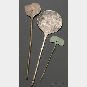 Three Pre-Columbian Metal Optical Instruments