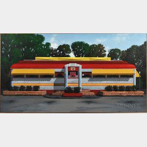Robert Paul Waddington (American, 20th/21st Century)      Road Side