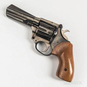Harrington & Richardson Model 999 Sportsman Double-action Revolver and High Standard Sentinel Mark I Double-action Revolver