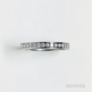 Platinum and Diamond Eternity Band, Cartier