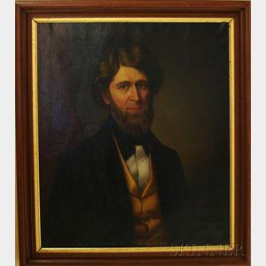 Two 19th Century American School Portraits