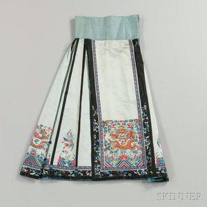 Han-style Apron Skirt, Baizhequn