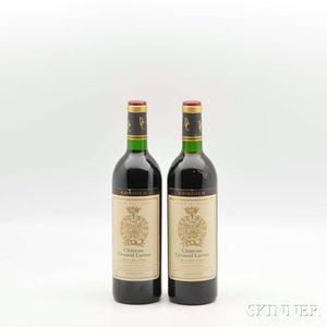 Chateau Gruaud Larose 1986, 2 bottles