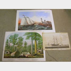 Two American Lithographs and a British Engraving