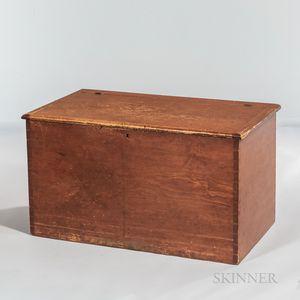 Shaker Pine Wood Box/Blanket Chest