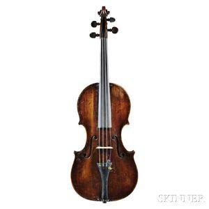English Violin, Workshop of James and Henry Banks, Salisbury, 1808