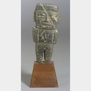 Pre-Columbian Carved Stone Figure