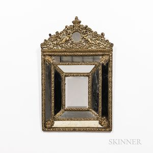 Neoclassical-style Gilt-plaster Mirror