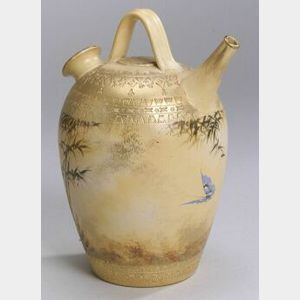 Early Arts and Crafts Rookwood Pottery Spanish Water Jug