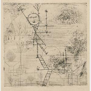 Paul Klee (Swiss, 1879-1940)      Höhe!