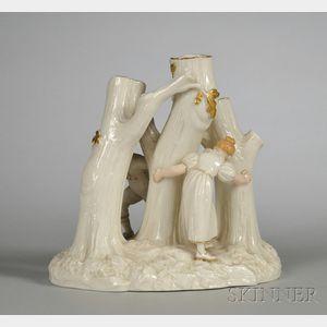 Royal Worcester Porcelain Figural Group