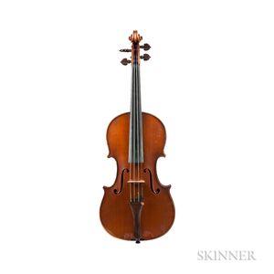 French Violin, Joseph Vautrin, Chaumont, 1923