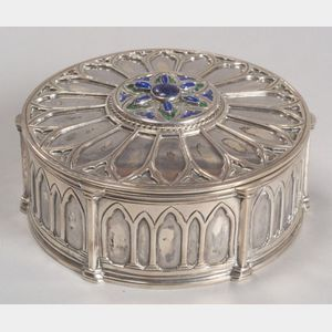 Sold for: $27,025 - Katherine Pratt Arts & Crafts Box