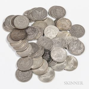 Large Collection of Silver Coins