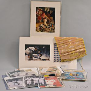 Group of Sports Memorabilia