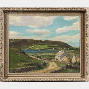 Michael Augustin Power O'Malley (Irish/American, 1878-1946)      Irish Coastal Cottages
