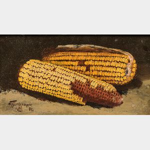 Alfred Montgomery (American, 1857-1922)      Two Ears of Corn