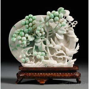Jadeite Plaque
