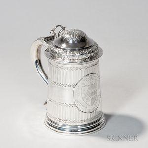 Georgian Sterling Silver Tankard