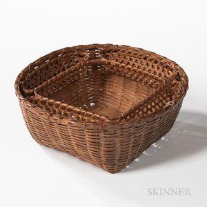 Ash Splint Sewing Basket