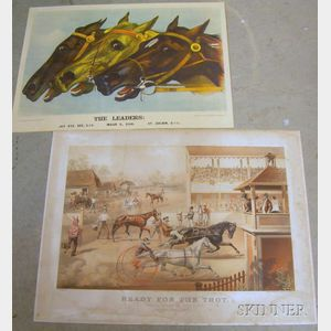Two Large Folio Currier & Ives Chromolithographs