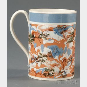 Mochaware Marbled Quart Mug