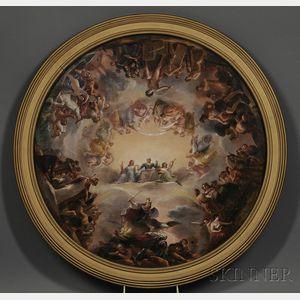 Sold for: $539,500 - Constantino Brumidi (Italian/American, 1805-1880)