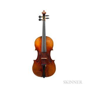 French Violin, Louis Joseph Germain, Paris, 1866