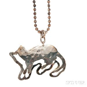 Sterling Silver Necklace, Robert Lee Morris for the Andy Warhol Foundation