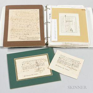 Revolutionary War and 1812-era Documents