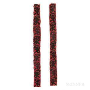 Pre-Columbian Textile Strips