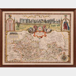 England. John Speed (1551-1629) Barkshire Described.
