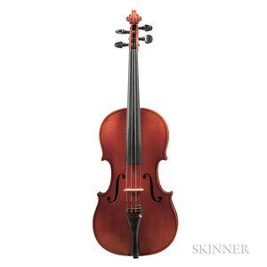 German Three-quarter Size Violin, Ernst Heinrich Roth, Bubenreuth, 1972