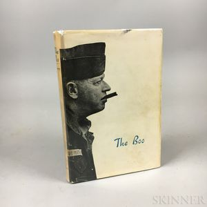 Conroy, Pat (1945-2016) The Boo  , Signed by the Author and Lt. Colonel Nugent Courvoisie (1916-2006)