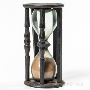 Black-painted Hourglass