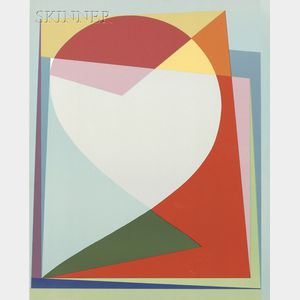 Michiel Gloeckner (American, 1915-1989)      Lot of Two Abstract Compositions