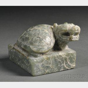 Soapstone Seal