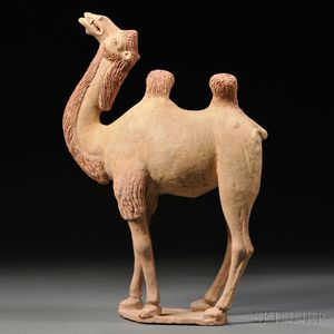 Funerary Pottery Model of a Camel (Mingqi