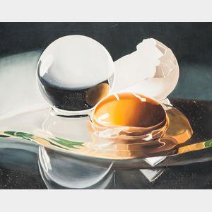James Tormey (American, b. 1938)      Egg and Crystal Ball