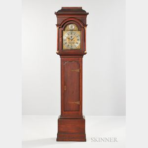 Nathanial Mulliken Cherry Tall Clock