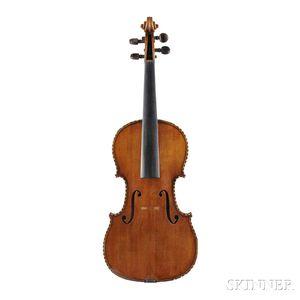 German Violin, Klingenthal School, c. 1880