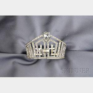 Crystal Crown Bracelet, Birks