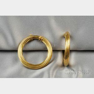 18kt Gold Earpendants
