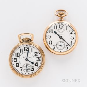 Two Waltham Watch Co. Open-face Watches