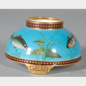 Christopher Dresser Design Bone China Fish Vase