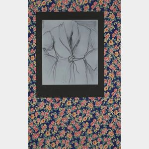Jim Dine (American, b. 1935)      The Robe Goes to Town