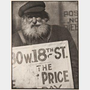 Paul Strand (American, 1890-1976)      Photograph--New York